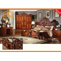 China All kind of latest design Profession high gloss antique reproduction french solid rosewood bedroom furniture set on sale