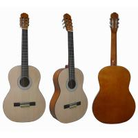 Quality 39 inch Natural Wood Classical Guitar with Rosewood fingerboard CG3911A for sale