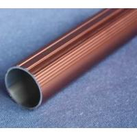 Quality Round T6061 Anodized Aluminum Tube , Powder Spray Coated Brushed Aluminum Tubing for sale