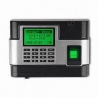 Quality Fingerprint Time Attendance and Access Control with 0 to 50°C Temperature for sale