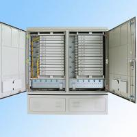Quality IP 65 576FO Street Fiber Optic Joint Box Cabinet Stainless steel SMC Housing for sale