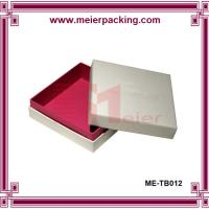 Quality Delicate design apparel paper box, paper scarve gift box ME-TB012 for sale