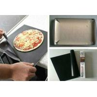 Buy Brown PTFE Coated Fiberglass Cloth Oven Liner Sheets Heat-resistance at wholesale prices