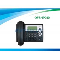 Quality Black 3 Way Call POE IP Phone for sale
