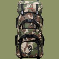 Buy Male Military Camping Outdoor Travel Backpack 70L Large Capacity at wholesale prices