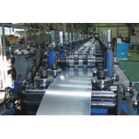 Quality G.I Coil / Carbon Purlin Roll Forming Machine With Touch Screen for sale
