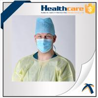 China Free Sample Disposable Head Cap Straight Barrel , Surgical Disposable Hats on sale