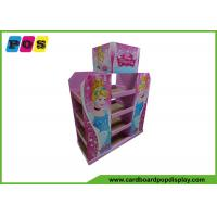 Quality Half Size Cardboard Pallet Display Rack For Back School Collection PA020 for sale