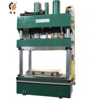 Quality 1000T Green Steel Hydraulic Heat Press For SMC And Carbon Fiber Molding for sale