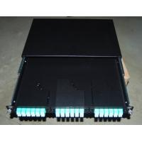 Quality SF-FPP002: Sliding Type MPO Solid Fiber Optic Patch Panel for sale
