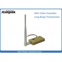 Quality 8CH Long Range Video Transmitter 3000m Transmission Range Wireless Transmitter for sale