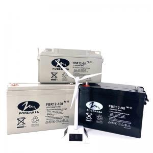 Quality F13 12v 90ah 100ah Lead Acid Gel Battery Maintenance Free For Communication System for sale