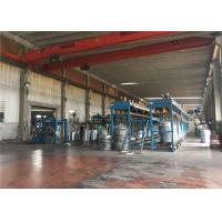 China Silver Hot Dip Galvanizing Line , Wire Production Line Adjustable Speed on sale