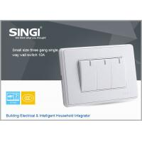 Quality 3 gang multi socket, decorative wall switches high quality, ,automatic lighting control wall switch for sale
