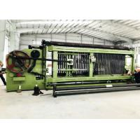 Quality Hydraulic Gabion Machine PVC Coated HMP-100 For 60mm X 80mm Mesh Size for sale