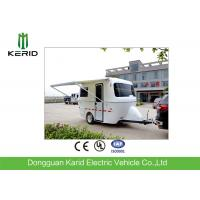 Quality Lightweight Camper Caravan Trailers With AlKo Coupling System for sale