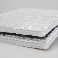 China Reusable Eco Double Reflective Insulation Building xpe foam multi layer isolation Wrap Insulation Air Cell Silver materi on sale