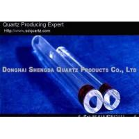 Quality Liquid gauge glass, liquid level quartz for sale