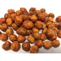 Quality Hot Sriracha Corn Strach Coated Roasted Chickpeas Snack With Halal Certifaicte for sale