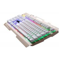 Quality Colorful LED Illuminated Wireless Keyboard Ergonomic Green Quiet Gaming Keyboard for sale