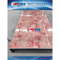 China Hot sale! 1220mm PVC wall decoration sheet extrusion line/production line/making machine on sale
