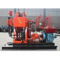 Large Torque Hydraulic Core Drilling Rig , GK-180 Water Well Borehole Drilling Rig