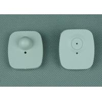 Quality Mini Square Plastic Rf Eas Hard Tag For Hats / Footwear , Fire Retardant for sale
