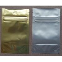 Quality Aluminum Foil Ziplock Bags Stand Up Packaging Pouches For Seeds for sale
