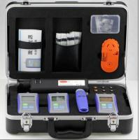 Quality Deluxe SM MM Fiber Optic Test Kit For Multimaode And Single Mode Systems for sale