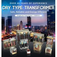 Quality Single And Three Phase Low Voltage Dry Type Transformer 1-1000kva Copper Alumnium for sale