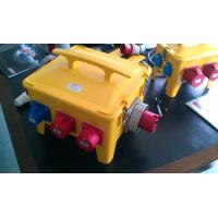 Quality Waterproof Portable Distribution Box Customized Yellow ABS Power House for sale