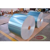 Quality Anodizing Thin Blue Coated Aluminium Sheet Foils Polished 3003 8011 for sale