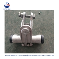 Quality FTTH 6mm PDE Preformed Armor Rod , Suspension Clamp For Overhead Lines for sale
