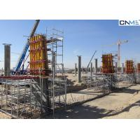 Quality Reusable Square Column Formwork Systems Powder Coated Surface Treatment for sale