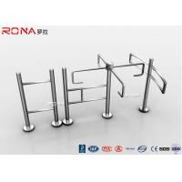 Quality Half Height Turnstile Entrance Gates Access Control RS485 Communication Interface for sale