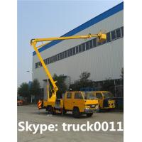 Quality hot sale 12m JMC brand aerial working platform truck, overhead working truck for sale for sale