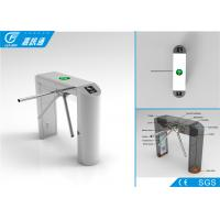 Quality Full Automatic Turnstile Gate With Card Reader , Durable Access Control Turnstile Gate for sale