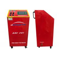 Quality 150W DC12V Flush Machine Red Color Four Wheels Change Oil At The Same Time for sale