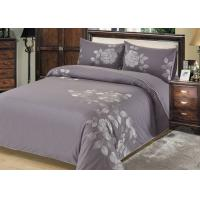 Quality Fashion Embroidered Sheet Set , 4 Pcs Lightweight Fabric Bed Sheet Set for sale