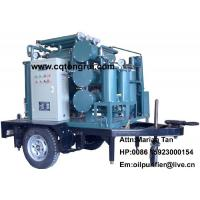 Buy Mobile Multi-functional transformer oil Purifier machine to remove deep oxide free carbon at wholesale prices