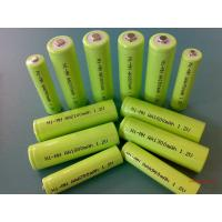 Quality Green 1.2V DVD NIMH Rechargeable Battery AA 2700mAh With ROHS for sale