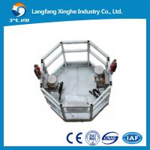 Quality CIRCLE aluminium alloy / hot galvanized suspended scafflolding / suspending platform / scaffolding platform for sale