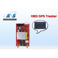 Quality GSM 1800MHz 1900MHz RFID / OBD GPS Tracker Check By Mobile Phone for sale