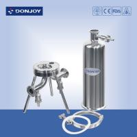 China 40 Inch Sanitary Cartridge Filter housing for Beer Filtration Equipment on sale
