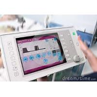 Quality Square Medical Touch Screen Monitor 12.1 Inch Size 24 Bit RGB Interface for sale