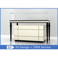 Buy Wooden + Glass Jewelry Showcase Display , Jewellery Showroom Furniture at wholesale prices