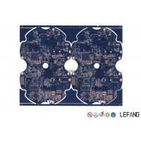 China Surface Mount PCB Fabrication And Assembly , Lcd Tv PCB Board Rectangle Shape on sale