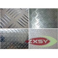 Quality ASTM Standard Embossing Aluminum Checker Plate , Aluminium Diamond Plate for sale
