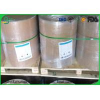 Quality White Grey / Gray Cardboard Paper Roll 1.0mm - 1.5mm Gsm For Box Making for sale