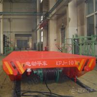 Quality 30t Cable drum powered rail transfer equipment industry apply for sale